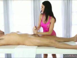 Big Tits Masseuse Jennifer Dark Facialed After Sucking Cock