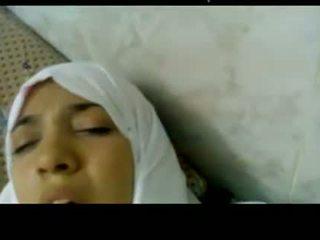 Wonderful Egyptian arabic hijab girl fucked in hospital -