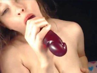 Busty vačka dívka getting divoký na vačka, volný porno b8