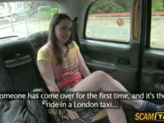 Damn Hot Olga Trades Sex For A Free Ride