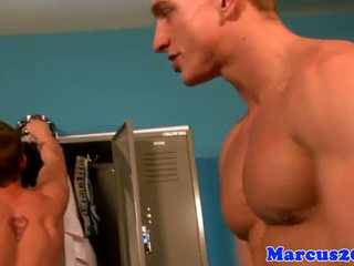 gay, kissing, muscle