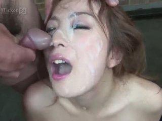 brunette frais, regarder deepthroat vous, idéal japonais meilleur