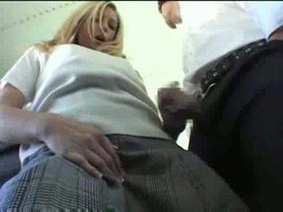 fille, uniforme, xvideos