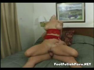 Busty Jules fucking a horny guy
