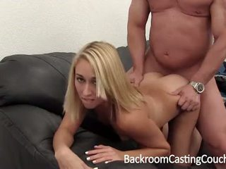 Anal Ouch and Creampie Surprise Casting