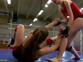 lesbian, watch lesbian fight, you muffdiving
