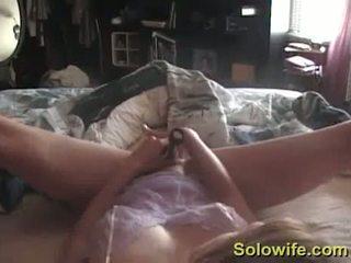 podglądanie, masturbacja, dildo, amator