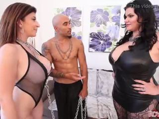 King Noire and Angelina Castro Dominate Sara Jay BBW THREESOME <span class=duration>- 2 min</span>