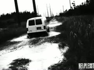 Helpless Teen Evelyn Has Been Walking For Awhile. Her Car