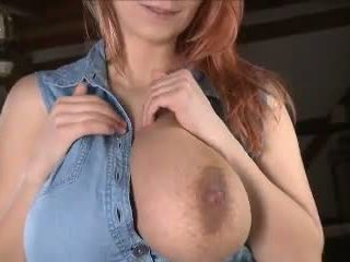 Big Haning Milking Fucked Tits, Free Amateur Porn Video ff