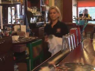 twice Hot bartender sucks