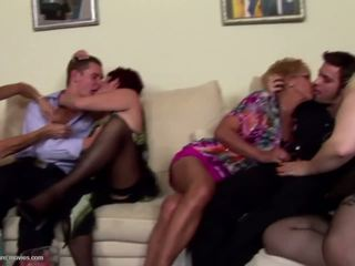 ideal group sex you, any grannies most, matures watch