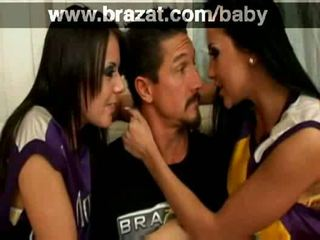 most brunette, doggystyle free, hot blowjob fun