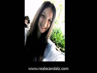Mignonne taiwanese étudiant sexe leaked
