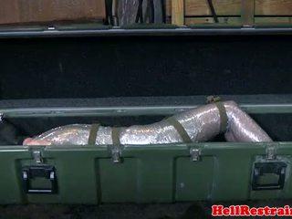 Mummified soumis learns discipline
