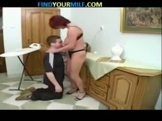 Russian mom and son family seductions 09