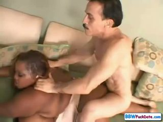 Old Man Fucks BBW Ebony Teen