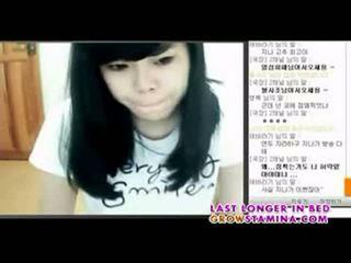 Korean web cam girl part1
