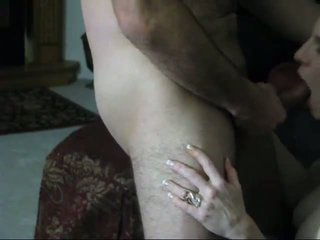 Busty Mature with Blue Jean Sex with Man, Porn d8