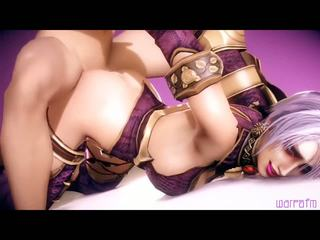 3D HD Compilation of hot Gaming Chicks