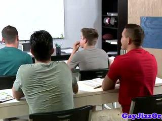 Σφηνάκι χύσι loving δάσκαλος dominated σε κατηγορία