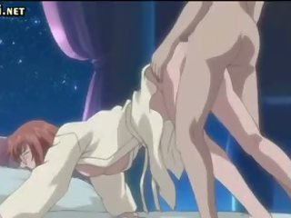 Anime babe fucked by tentacles