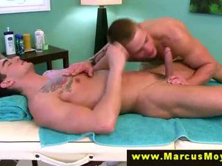 Straight cut pornstar eating ass