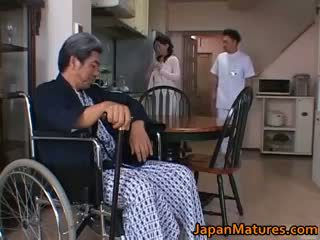 Miki sato äldre nipponjin modell part5