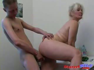 Russian Sexy Grandma Lena And Slava