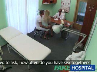 Bf fucks his gf while doc gives advice