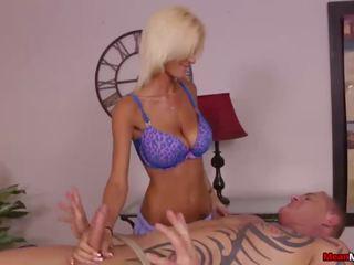 Blondynka pani dominant na ręcznym, darmowe oznaczać masaż hd porno 13