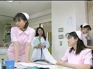 Lovely Asian doctor shags with her kinky patient