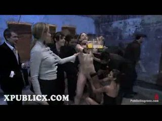 Sarah shevon orgy submitted in public theater