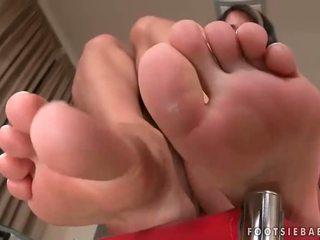 Sexy pés e quente sexo compilação