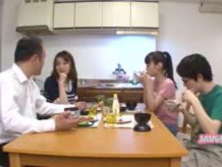 japonês, boquete, lambida