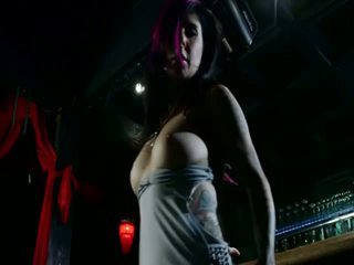 Sexy playing with Joanna Angel
