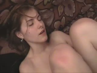Russian girl get hard fuck