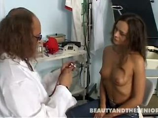 Teen patient gets fucked by old doctor Otto