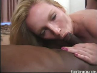 Dirty Blonde Kitty Does A Creampie Gangbang