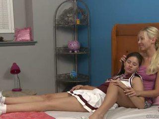 Shyla Jennings and Aaliyah Love at Cheer Camp