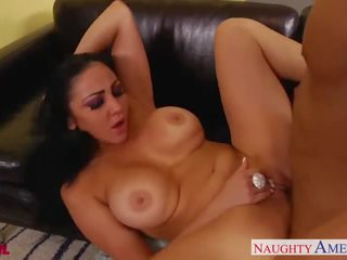 Quente morena audrey bitoni gets nailed