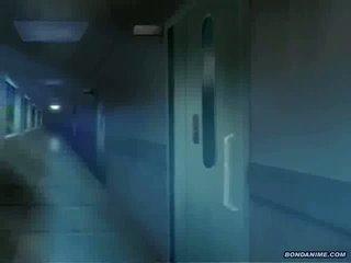 The leggy medicinska sestra gets anus in muca toyed