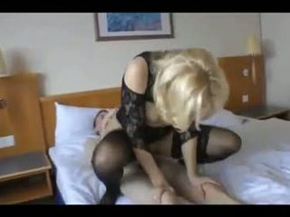Mature Wife Cuckolds Her Man With a Young Guy
