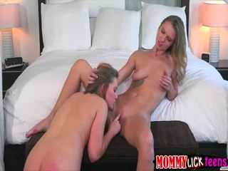 MILF Alina demonstrates pussy play to her lady Bailey