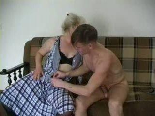 Sexy bestemor lena og alex