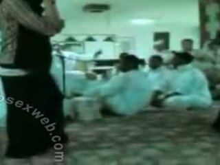 Arab Hijab Horny Group Dance