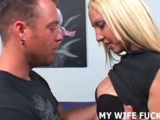 Savo žmona likes taking didelis cocks sunkus