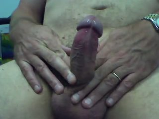 me wanking and cumming