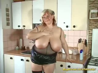 My Extreme Big Natural Breast Mom Alone at Home: Porn d7