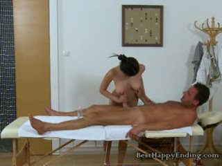 Horny Masseuse Miyuki Going In For The Cock